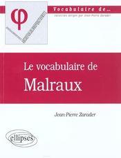 Malraux - Intérieur - Format classique