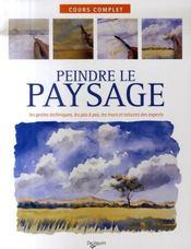 Peindre le paysage - Intérieur - Format classique