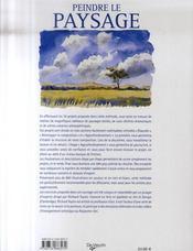 Peindre le paysage - 4ème de couverture - Format classique