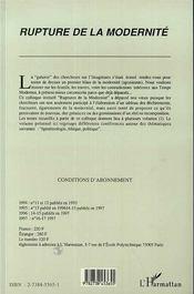 Cahiers De L'Imaginaire, Epistemologie, Ethique Et Politique - 4ème de couverture - Format classique