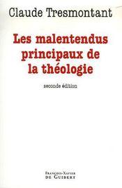 Les malentendus principaux de la théologie (2e édition) - Intérieur - Format classique