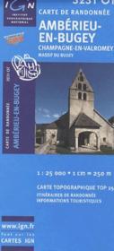Ambérieu-en-Bugey ; Champagne-en-Valromey ; massif du Bugey ; 3231 OT - Couverture - Format classique