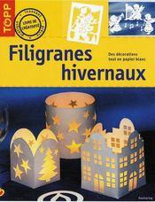 Filigranes hivernaux - Intérieur - Format classique