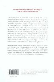 Rendons A Cesar - 4ème de couverture - Format classique