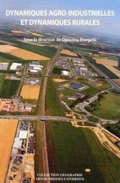 Dynamiques Agro-Industrielles Et Dynamiques Rurales - Couverture - Format classique
