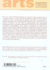 Reseau Artist De Rob Dela - 4ème de couverture - Format classique