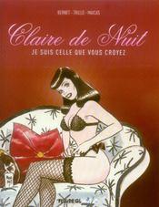 Claire de nuit t.2 - Intérieur - Format classique