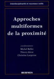 Approches multiformes de la proximite - Couverture - Format classique