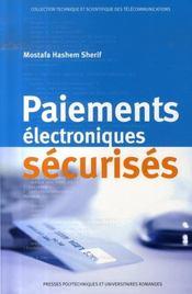 Paiements électroniques sécurisés - Intérieur - Format classique