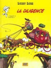 Lucky Luke t.32 ; la diligence - Couverture - Format classique