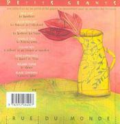 Comptine - 4ème de couverture - Format classique