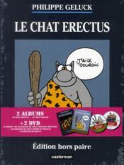 Le Chat T.17 ; le chat erectus ; le chat sapiens - Couverture - Format classique