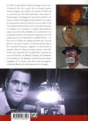 Changements de têtes ; de Georges Méliès à David Lynch - 4ème de couverture - Format classique