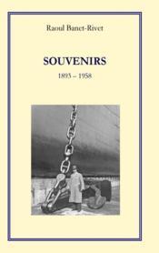 Souvenirs 1893 - 1958 - Couverture - Format classique