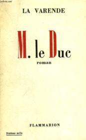 M. Le Duc. - Couverture - Format classique