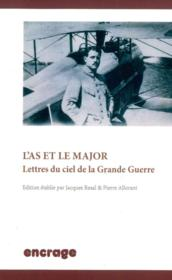 Vente  L' as et le major - lettres du ciel et la grande guerre  - Pierre Allorant