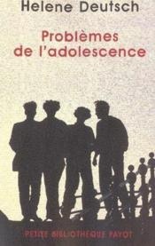 L'adolescence au quotidien - Maryse VAILLANT - ditions La
