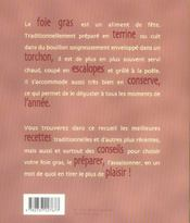 J'ai tres envie de foie gras - 4ème de couverture - Format classique