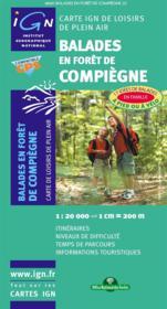 Balades en forêt de Compiègne - Couverture - Format classique