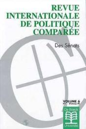 Revue Internationale De Politique Comp. Des Senats - Couverture - Format classique