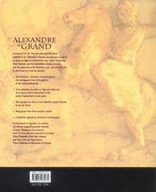 Alexandre le Grand. sa véritable histoire - 4ème de couverture - Format classique