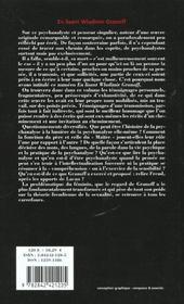 Revue L'Inactuel 06 - En Lisant Wladimir Granoff - 4ème de couverture - Format classique
