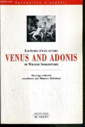 Venus and adonis de william shakespeare - Couverture - Format classique