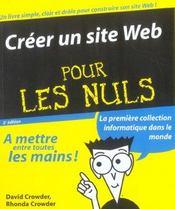 Creer un site web - Intérieur - Format classique