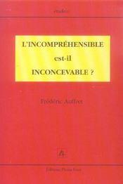 L Incomprenhensible Est Il Inconcevable - Intérieur - Format classique