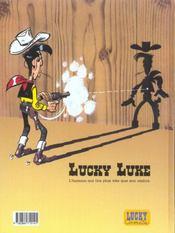 Lucky Luke t.48 ; le bandit manchot - 4ème de couverture - Format classique