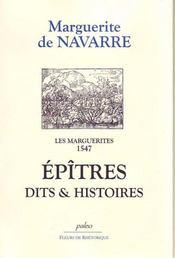 Les marguerites 1547 ; épîtres, dits et histoires - Intérieur - Format classique