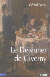 Le dejeuner de giverny - Intérieur - Format classique