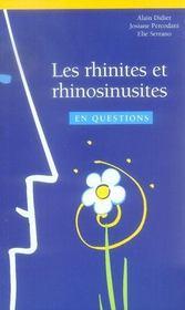 Les rhinites et rhinosinusites en questions - Intérieur - Format classique