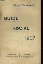 Guide Social 1907 - Couverture - Format classique