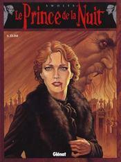 Le prince de la nuit t.5 ; elise - Intérieur - Format classique