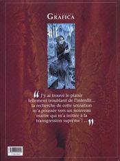 Le prince de la nuit t.5 ; elise - 4ème de couverture - Format classique