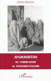 Afghanistan Du Communisme Au Fondamentalisme - Intérieur - Format classique