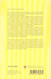 Le guetteur de mirages ; cinq poemes preislamiques - 4ème de couverture - Format classique
