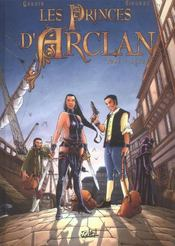 Les princes d'Arclan t.1 ; Lekard - Intérieur - Format classique