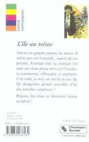 Ile Au Tresor - 4ème de couverture - Format classique