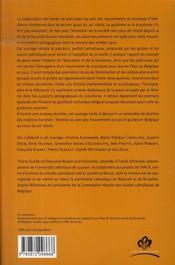 Guidisme, scoutisme et coéducation ; pour une histoire de la mixité dans les mouvements de jeunesse - 4ème de couverture - Format classique