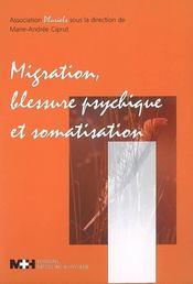 Migration, blessure psychique et somatisation - Intérieur - Format classique