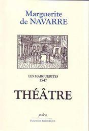 Les marguerites 1547 ; théâtre - Intérieur - Format classique