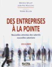 Des entreprises à la pointe ; nouvelles attentes des salariés ; nouvelles solutions - Couverture - Format classique
