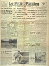Petit Parisien Edition De Paris (Le) du 11/03/1941 - Couverture - Format classique