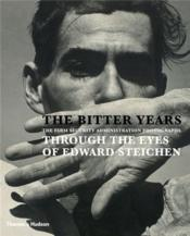 The Bitter Years /Anglais - Couverture - Format classique