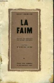 La Faim - Couverture - Format classique