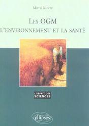 Les Ogm L'Environnement Et La Sante No42 - Intérieur - Format classique