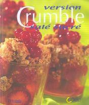 Crumble version sale, sucre - Intérieur - Format classique