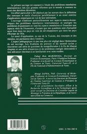 Monnaie Et Finance Internationales ; Approche Macro-Economique - 4ème de couverture - Format classique